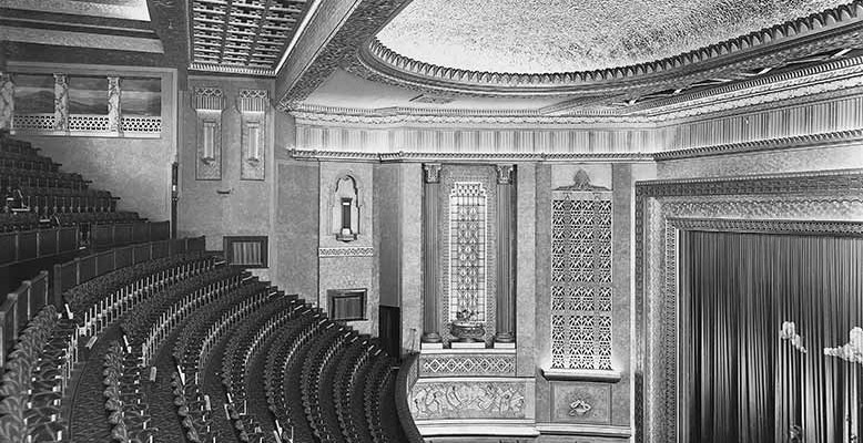 Plaza Auditorium - Opening day - October 7th 1932