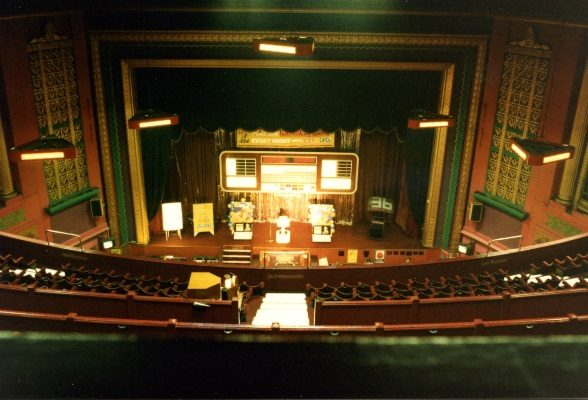 The Plaza auditorium during her Mecca Bingo years