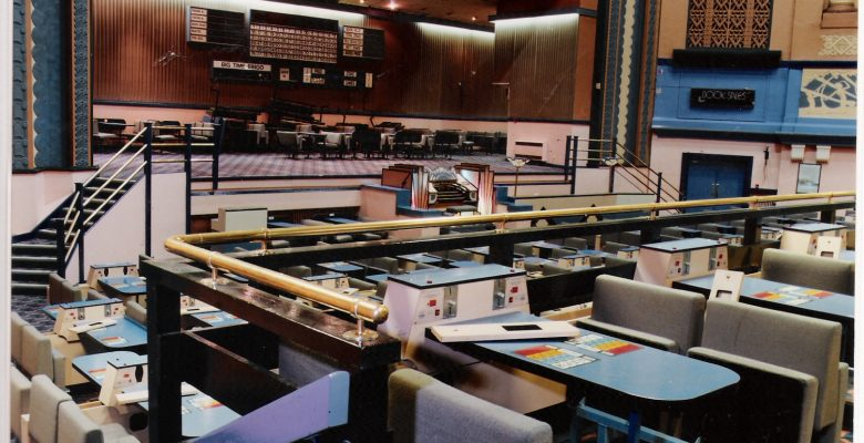 Pre Restoration Auditorium in March 2000 still fitted as a Mecca Bingo Hall
