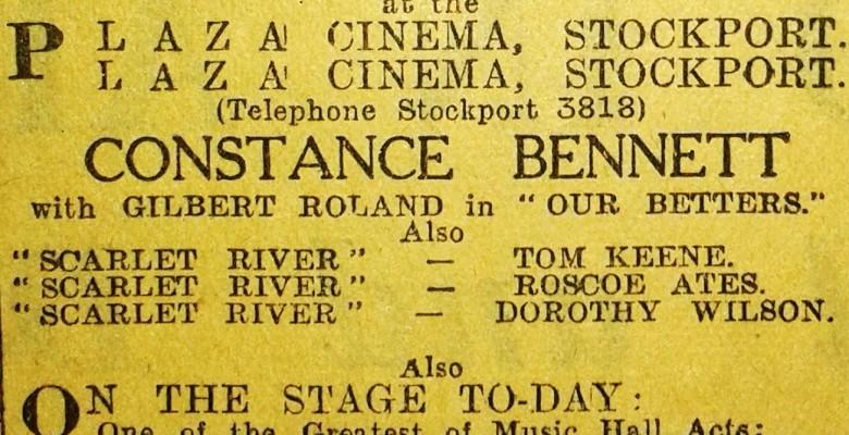 Advertisement featuring Constance Bennett dated December 6th 1933